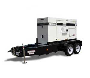 Generator rentals in Western Washington