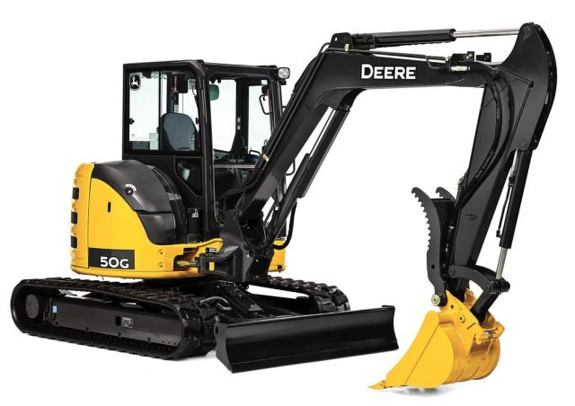 Where to find JOHN DEERE 50G EXCAVATOR 11000LBS in Tacoma