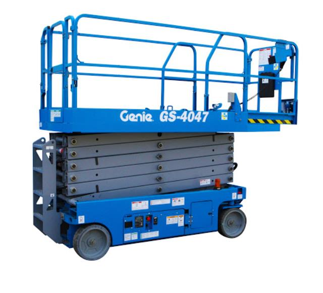 Where to find 40  SCISSOR LIFT GENIE 4047 in Tacoma