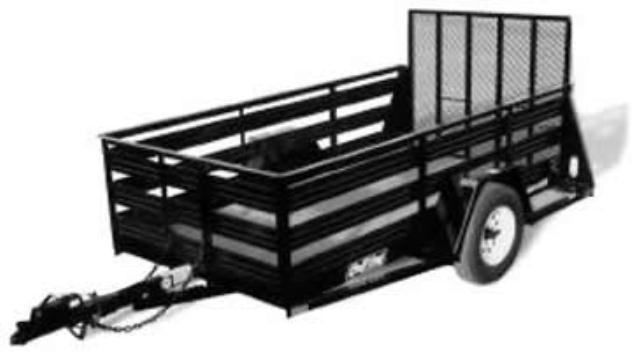 Where to find 5x10 UTILITY TRAILER  2000LBS MAX in Tacoma