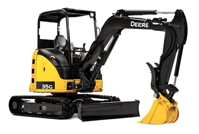 Where to find JOHN DEERE 35G MINI EXCAVATOR 8000LBS in Tacoma